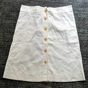 Banana Republic linen skirt 12